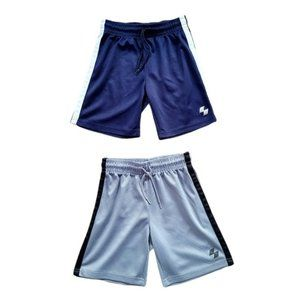 4/$30 Lot of 2 Pairs Boys Athletic Shorts Size 5/6